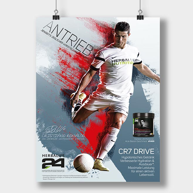 CR7 DRIVE Poster Variante 2