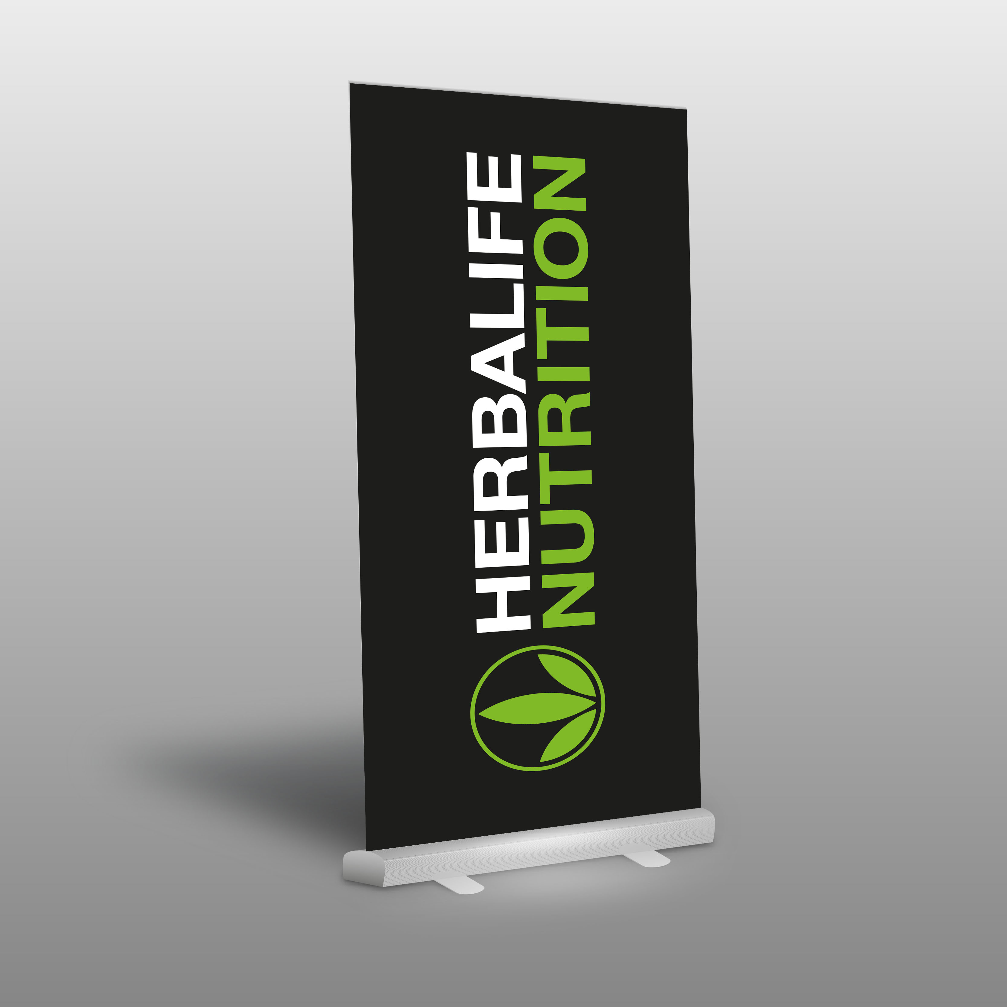 Roll-Up HERBALIFE NUTRITION LOGO SCHWARZ