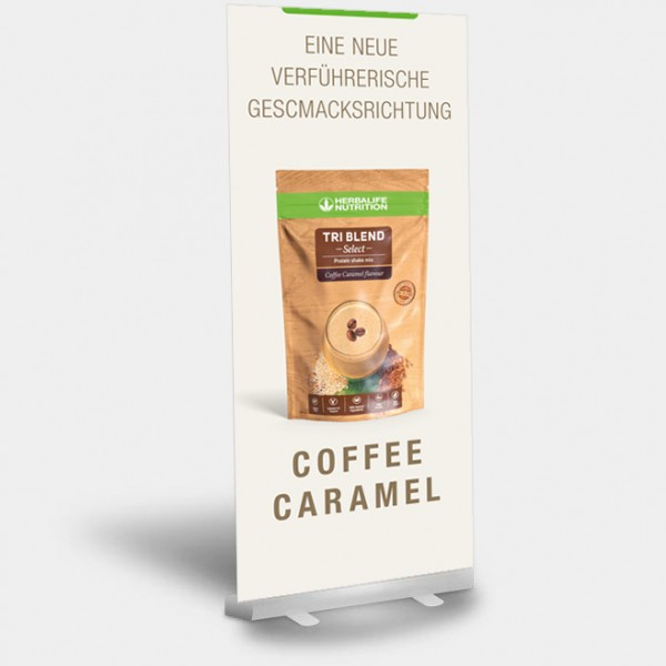 RollUP Triblend Coffee Caramel