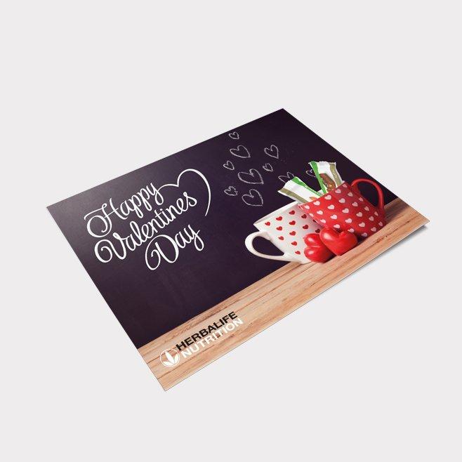 Postkarte Valentinstag Motiv 3