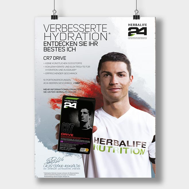 CR7 DRIVE Poster Variante 1