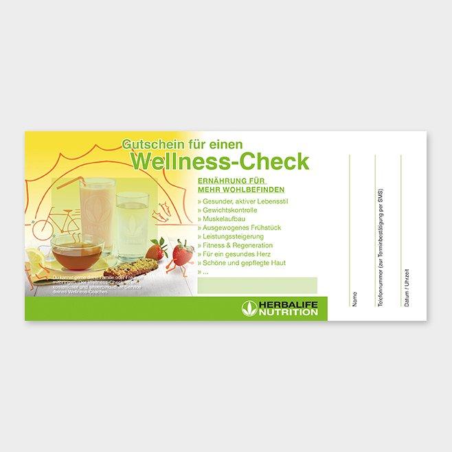 Wellness-Check Gutschein Herbalife Motiv 4