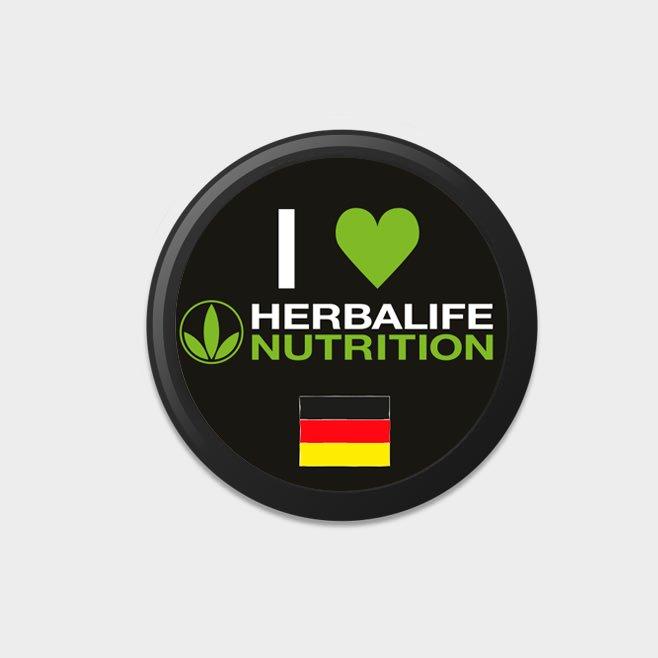 Herbalife Buttons (10 Stück) DE