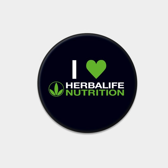 Herbalife Buttons (10 Stück)